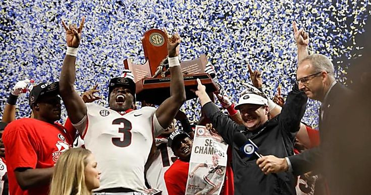 Georgia's SEC Championship win was highest-rated college football game this season