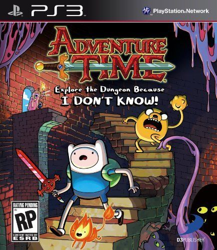 Adventure Time: Explore the Dungeon Because I DON'T KNOW! PS3 by D3 Publisher, http://www.amazon.com/dp/B00CMD78O4/ref=cm_sw_r_pi_dp_9fE7rb0100QRC