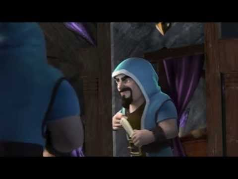 // Two new colorful CG trailers are out for the Clash of Clans video game.