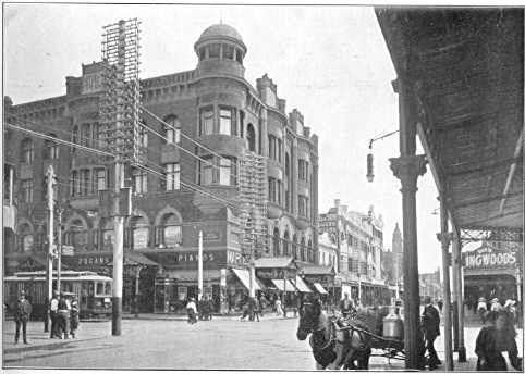 Chapel Street - showing Maple's Corner