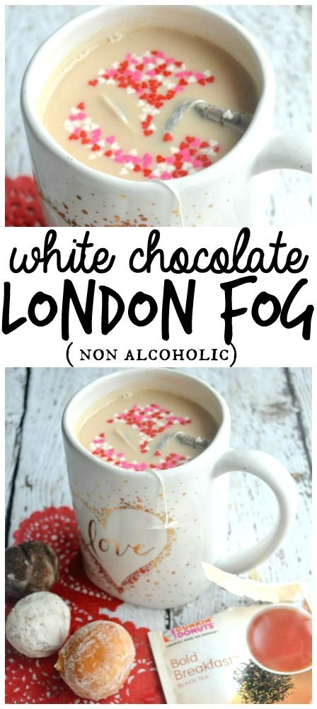 White Hot Chocolate London Fog - Make The Best of Everything