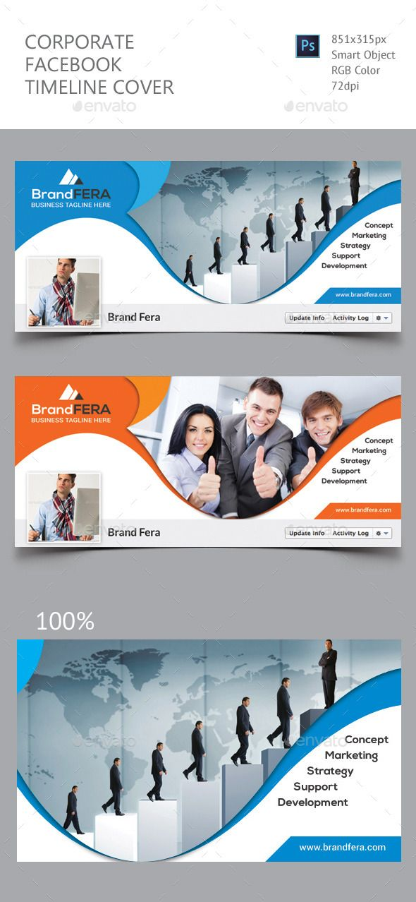 Corporate Facebook Timeline Cover Template #design Download: http://graphicriver.net/item/corporate-facebook-timeline-cover/12497177?ref=ksioks