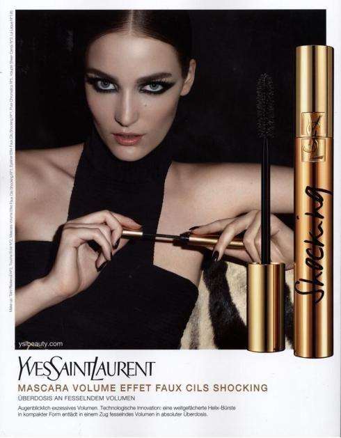 YSL Beauté mascara ad