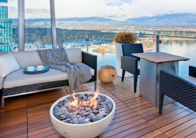 Foyer ext rieur ultime le brasero de jardin de design for Foyer exterieur