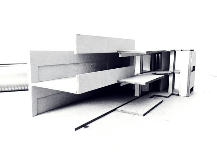 Edificio Altamira _ Rafael Iglesia Maqueta Recorte - ADN proyectual y tectonico -  Continuidad Tectónica