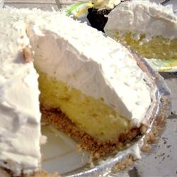 Recipe:  Old fashioned Coconut Cream Pie for its National Day in May