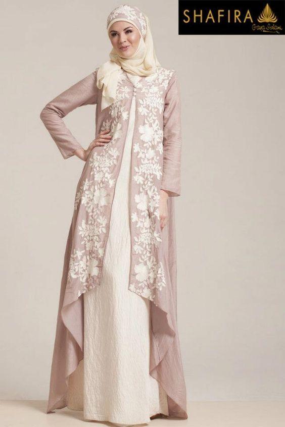 Long dress muslimah colour