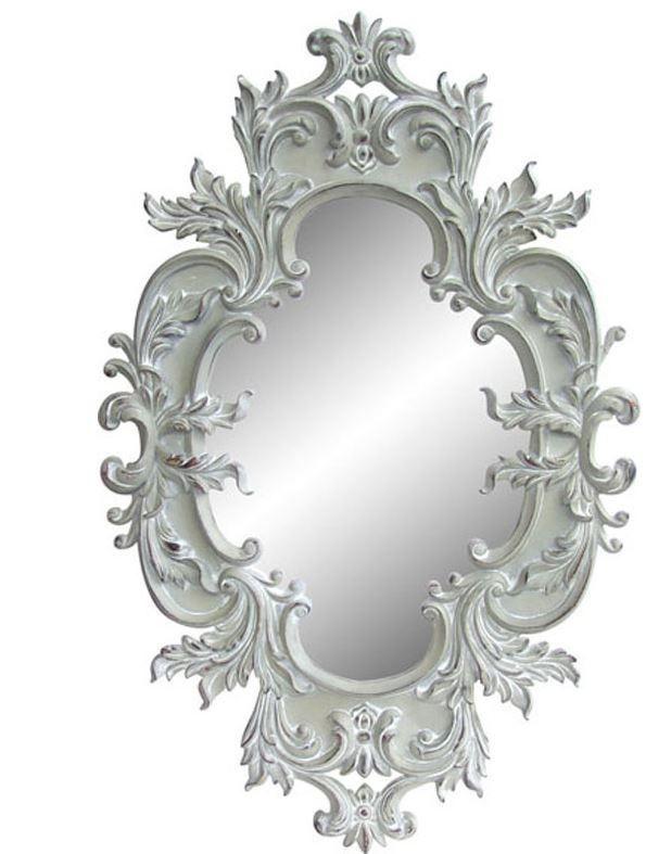 "39"" Legion Furniture Farmhouse Mirror LF523AWH"