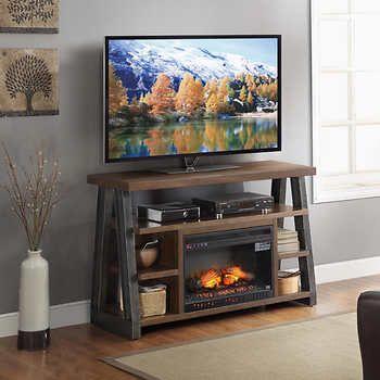 Dakota Electric Fireplace and Media Console