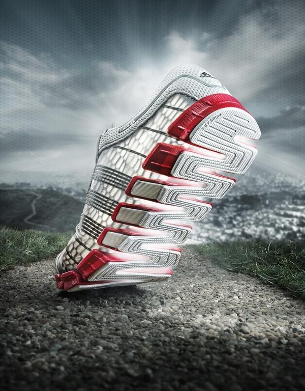 Adidas Campaign by Mark Holthusen, via Behance
