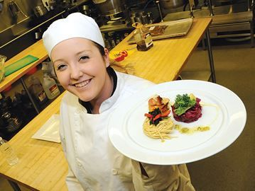 Sample work of young chefs in Barrie - Georgian College culinary students, such as Kari Howell, will take you on a tour of the world as they graduate this year