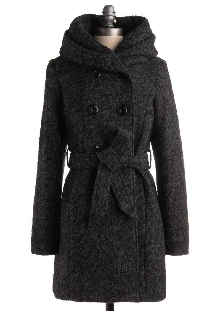 Steve Madden Winter Coat // Love the hood on this coat! Would be a timeless piece to add to any wardrobe.
