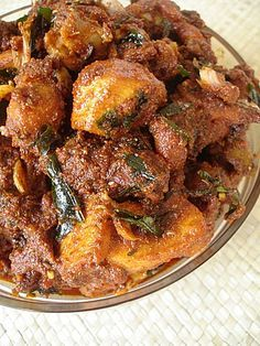 Andhra Chicken Pickle -  http://www.sailusfood.com/2008/11/05/andhra-chicken-pickle/