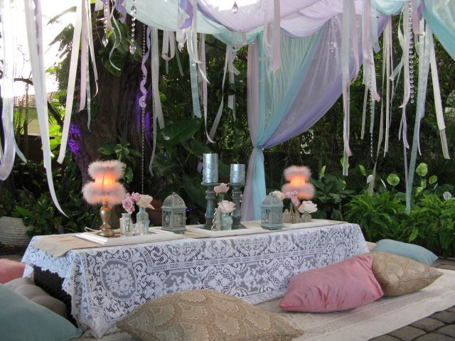 Lacework for Bohemian style decoration