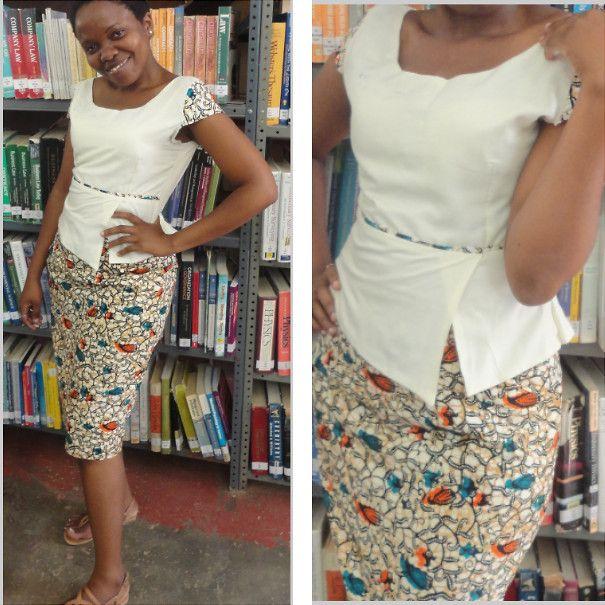 african print skirts ~African fashion, Ankara, kitenge, African women dresses, African prints, African men's fashion, Nigerian style, Ghanaian fashion ~DKK