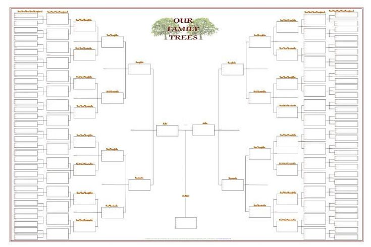 28 Free Family Tree Chart Template in 2020 | Blank family ...