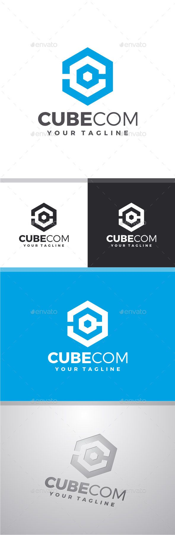 Cubecom Letter C - Logo Design Template Vector #logotype Download it here: http://graphicriver.net/item/cubecom-letter-c-logo/8232366?s_rank=1390?ref=nexion