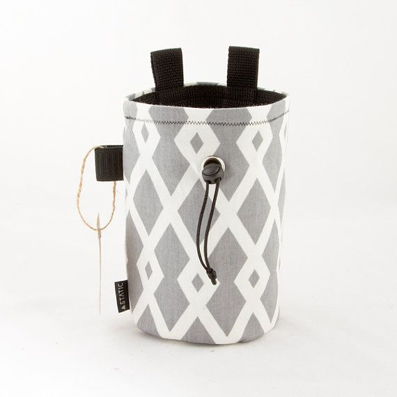 The Modern Chalk Bag by StaticClimbing on Etsy