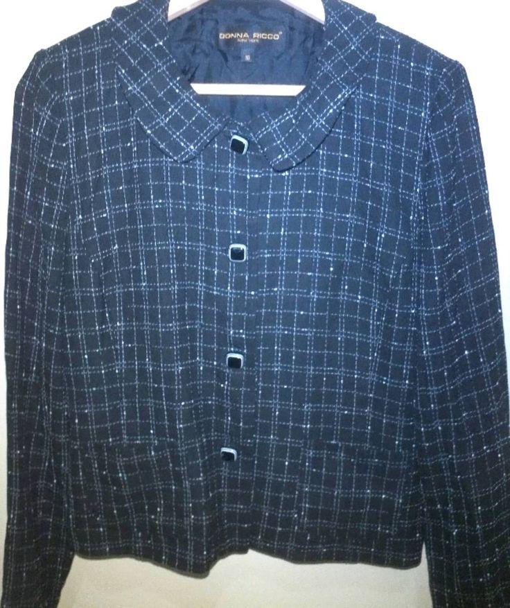 casaco - casaquinhos donna ricco