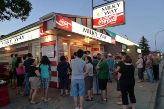 Milky Way Ice Cream Restaurant Reviews, Regina, Canada - TripAdvisor