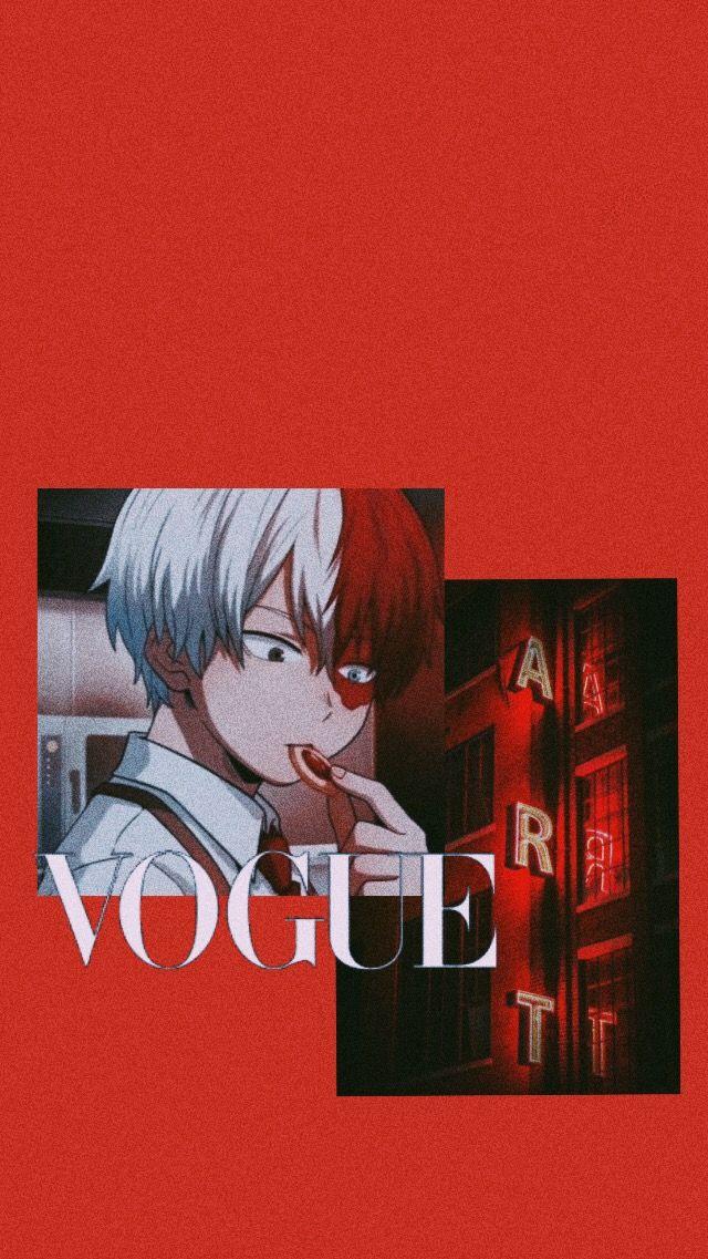 Shōto Todoroki Wallpaper In 2020 Anime Wallpaper Iphone Cute Anime Wallpaper Cartoon Wallpaper Iphone