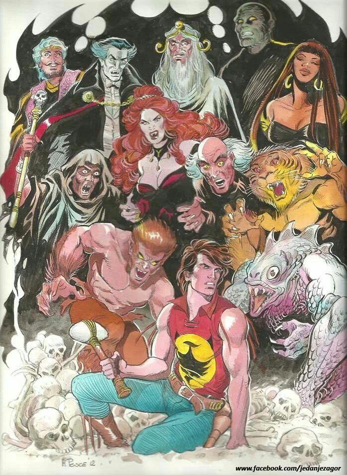 Zagor villains