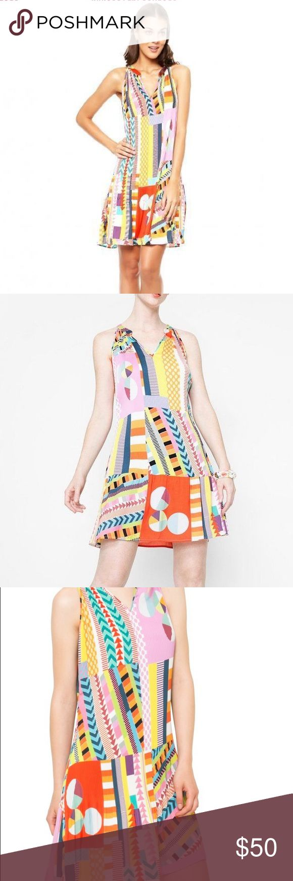 NWT desigual multi color dress Desigual - New with tags - multicolor pleated dress. 100% polyester Size 38/medium  No trades. Offers welcome Desigual Dresses