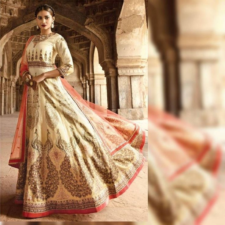 35% off on this gorgeous Cream embroidered Bhagalpuri Silk Anarkali with semi stitched salwar & dupatta! Grab it now! Product ID : 1727184 Worldwide Delivery | 7 day return Policy Visit m.mirraw.com DM or Whatsapp on 91 8291100288  #PictureOfTheDay #EthnicWear #Fashion #Anarkali #Beautiful #Love #Bride #Bridesmaids #Wedding #InstaDaily #InstaPhoto #InstaGo #InstaGood #InstaLike #InstaClick #LikesForLikes #TagsForLikes