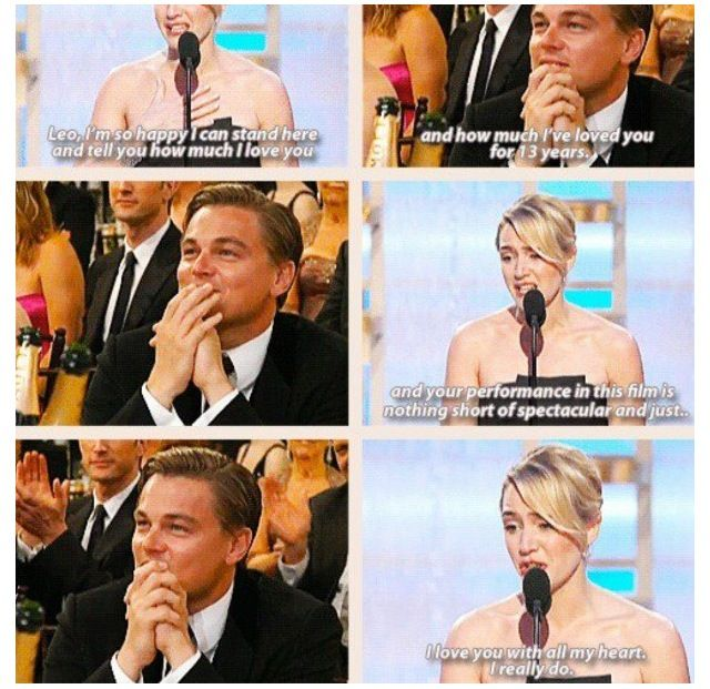 I love, love, LOVE Leo and Kate!❤ This was the cutest video ever
