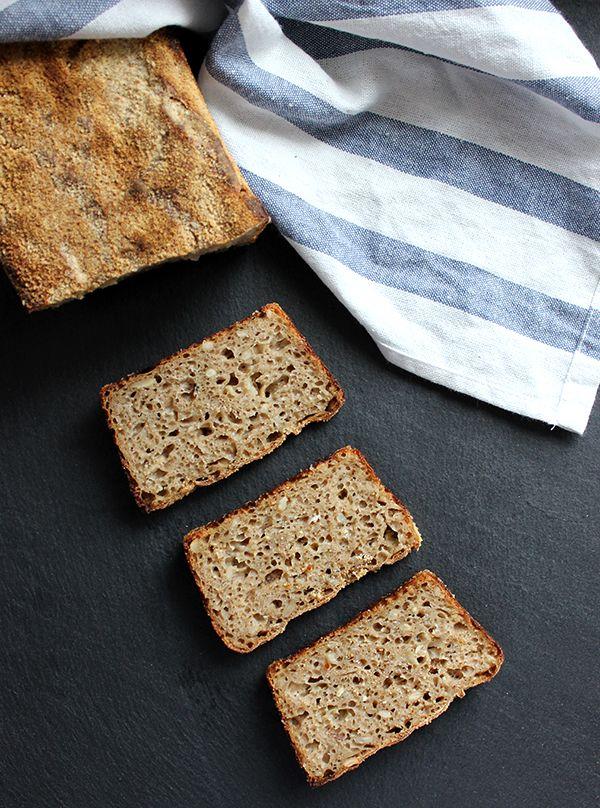 Chleb piwno-cebulowy na zakwasie