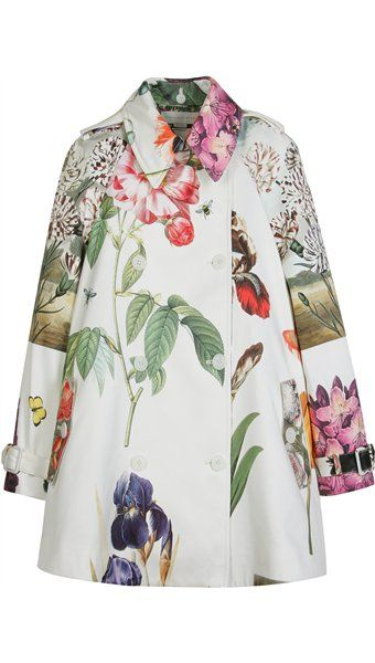stella mccartney floral coat