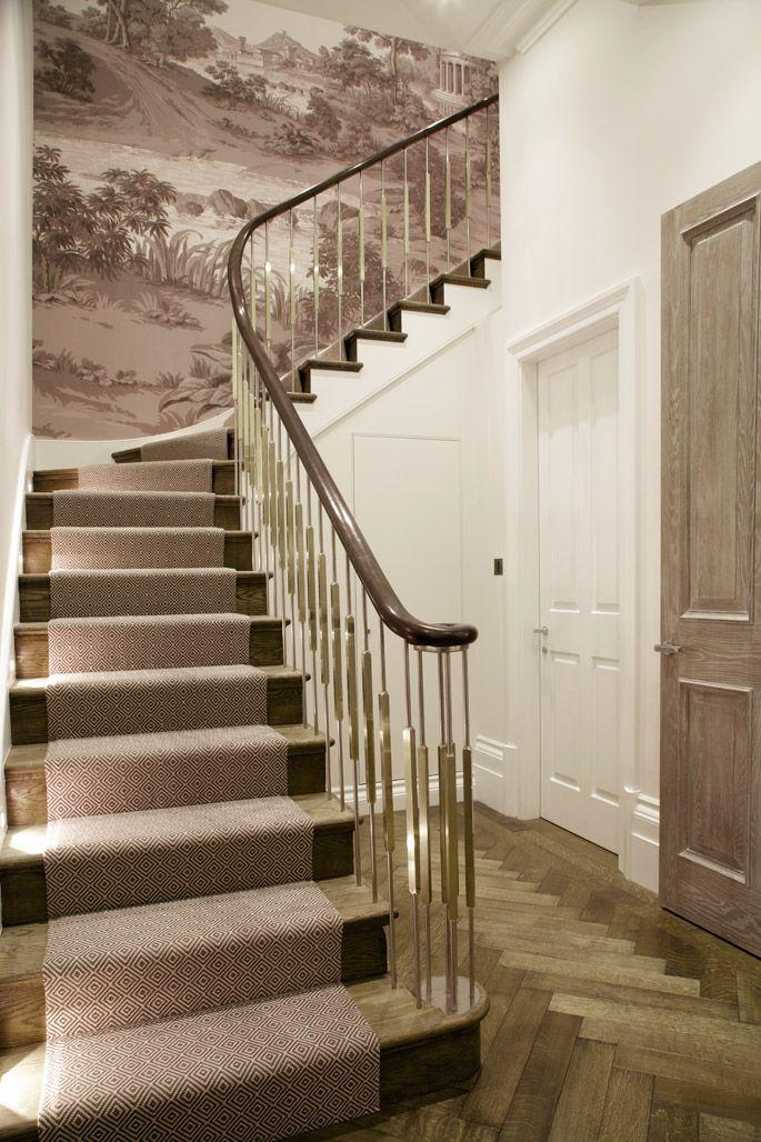 Cocovara :: handrail, door and stair runner