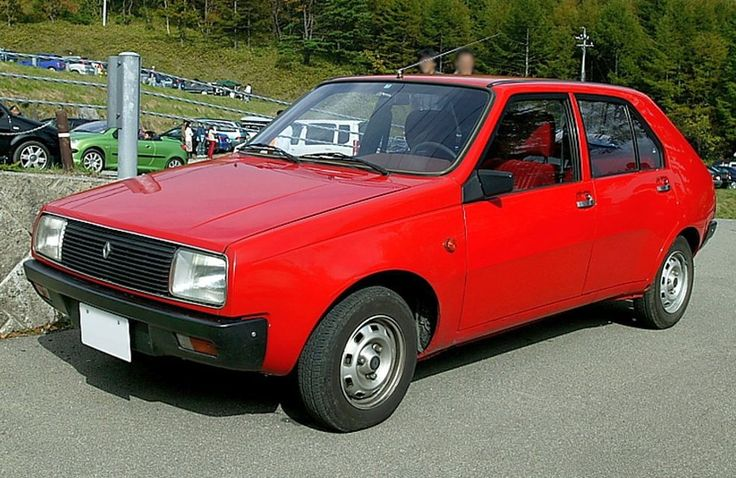 Renault 14 My very first own car