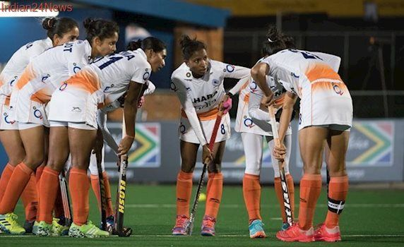 Indian women's team beat Chile 1-0 to enter quarterfinals of Hockey World League Semi-Final