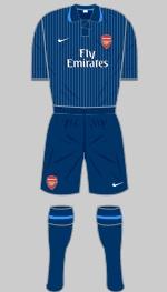 2009-2010 Arsenal Kit