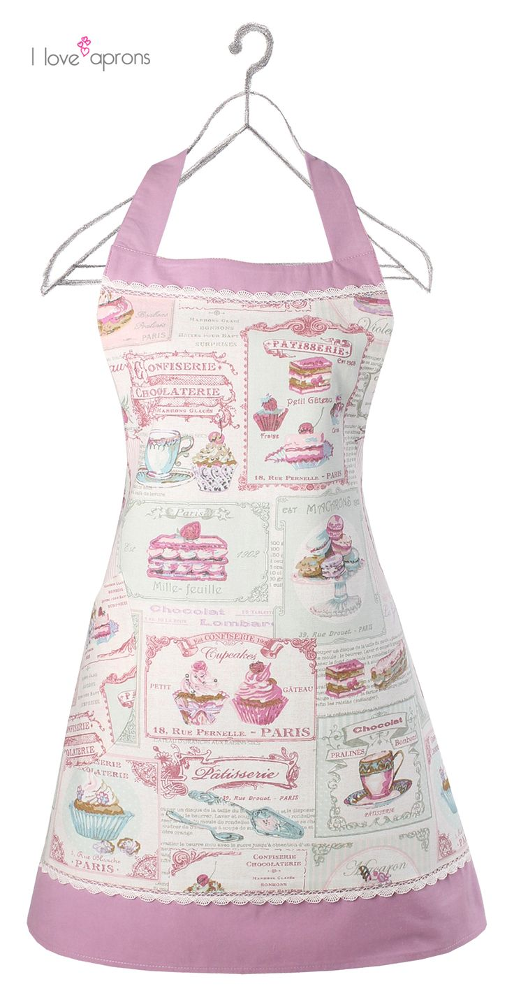 Violet by i love aprons delantales i love aprons for Accesorios de cocina vintage