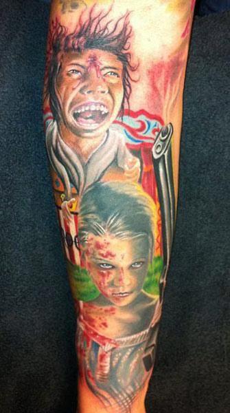 Realism Tattoo by Randy Engelhard - http://worldtattoosgallery.com/realism-tattoo-by-randy-engelhard-3/