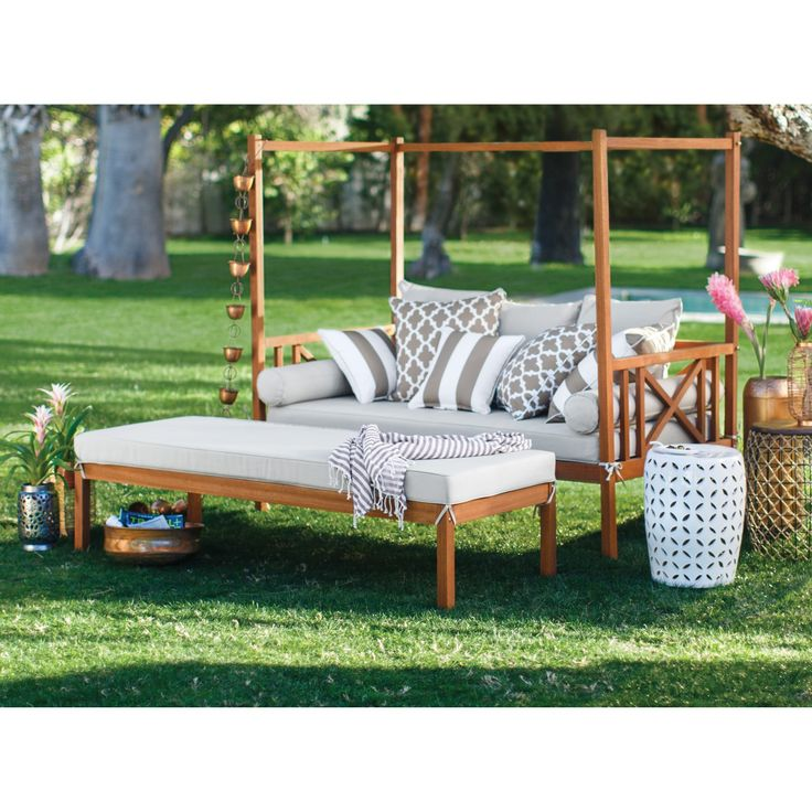 Patio & Garden in 2020 | Outdoor daybed, Kids outdoor ... on Belham Living Brighton Outdoor Daybed id=54709