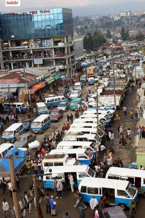 At Merkato, the biggest open air market in Africa (in capital Addis Abeba)