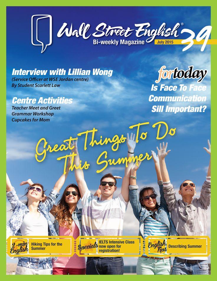 wall street english bi weekly magazine no 39 great on wall street english id=87754