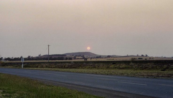 Moonrise over Gentle Annie