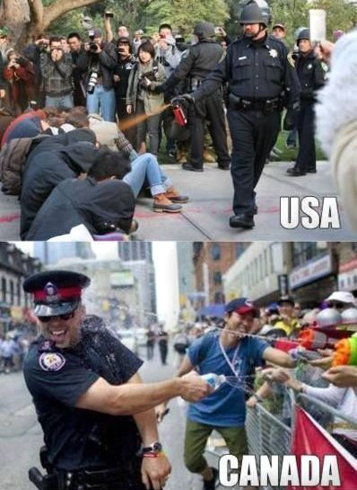 #funny #humor police #usa vs #canada