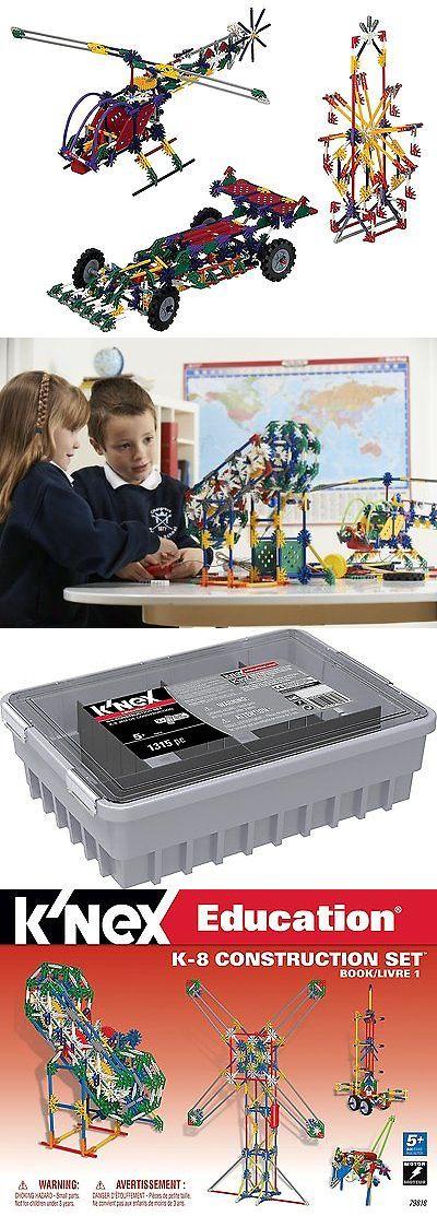 KNEX 21254: K Nex Education - K-8 General Construction Set -> BUY IT NOW ONLY: $220.23 on eBay!