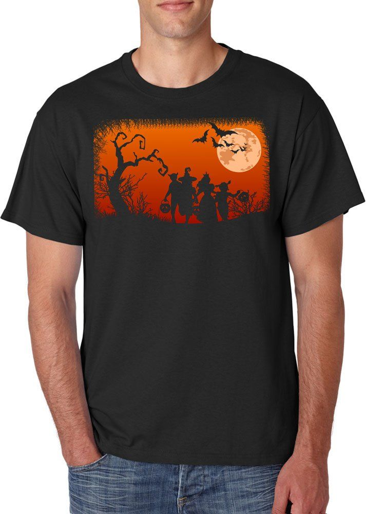 New+Black+For+Men+Tshirt+Halloween+Midnight+Candy+Hunt+Custom+T-Shirt