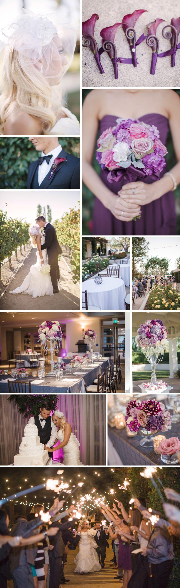 Love u0026 Lavender Southern California Wedding