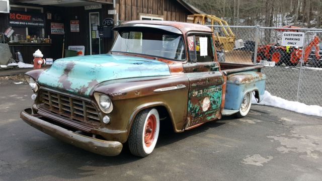Pin By Clarence Reese On Slammed Chevy Trucks With Images 1957