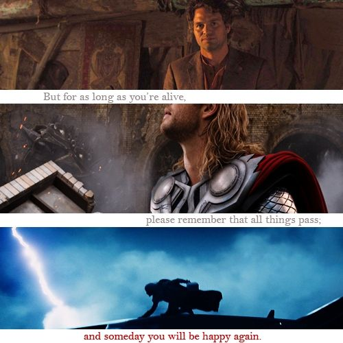 Thor/Bruce- Thunder and Lighting, it's Getting Exciting