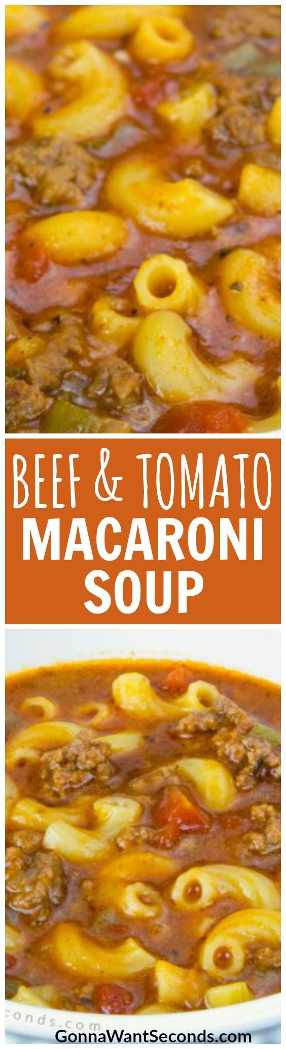 Leaves are falling (or at least tourists are dwindling here in California), so it must be fall! This simple but satisfying, hearty Beef and Tomato Macaroni soup will be a repeat visitor to your dining table when the temperatures drop and appetites grow.