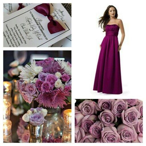Sangria wedding colors
