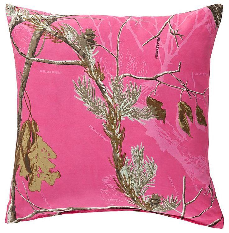 Realtree Hot Pink Camo Pillow  I Want This Soooo Bad Lol